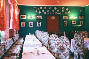 """Ресторан """"Гранд Виктория"""" Ресторан в зеленых тонах 0"""