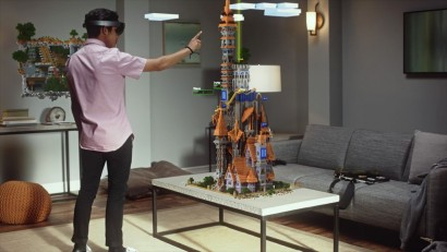 Modern invent  Microsoft Hololens 0