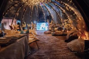 AURA DOME Купольный шатер на крыше 0