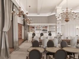 Банкетный ресторан Январь Главный зал  0