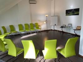 Зал для тренингов, конференций, семинаров, презентаций Зал на мансарде 0