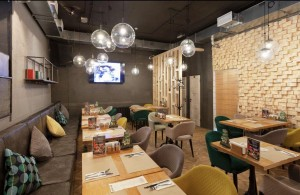 CRAFTED GRILL BAR CITY Основной зал ресторана 0